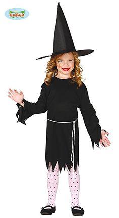 Kleine Hexe Kinder Kostüm 110 - 146, Größe:140/146