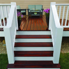 Enhance the look of your deck with Cabot® Gold Ultimate Finish. Providing an unparalleled satin sheen, this stain adds interesting dimension and protects your floorboards from sun damage. Love deck color with white railing Deck Stain Colors, Deck Colors, Grey Deck Stain, Wood Deck Stain, Best Deck Stain, White Stain, White Wood, Dark Wood, Paint Colors