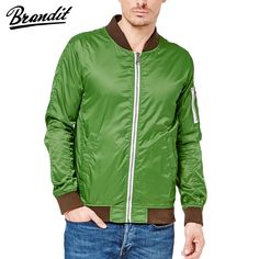 Brandit Portland is a lightweight classic jacket with contrasting knitted collar, cuffs, and waistband, 2 hand pockets and bicep pocket on the left arm, and oversized zipper closure. Perfect for everyday wear. Only £39.95! Find out more at Military 1st online store. Free UK delivery and returns!