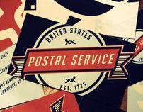 United States Postal Service Re-Branding by Matt Chase, via Behance
