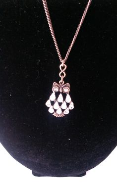 Owl Necklace, Pendant Necklace, Jewellery, Stone, Glass, Jewels, Rock, Drinkware, Schmuck