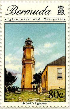 Faros y navegación: Baliza de Señalización North Rock, Bermudas 1996
