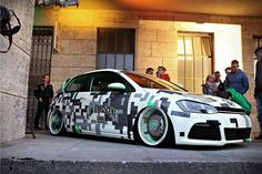 Golf Dream Car Garage, Car Set, Love Car, Car Painting, Car Wrap, Car Stickers, Custom Cars, Cars And Motorcycles, Dream Cars