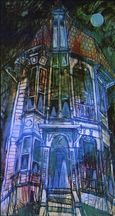 A gallery of the paintings from Rod Serling's 'Night Gallery' | Dangerous Minds