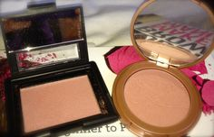"""Tarte's Amazonian Blush """"exposed"""" has a cult following and a great dupe for it is E.l.f.'s """"Mellow Mauve""""."""