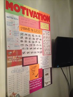 Motivation board of my own :) fitness motivation wall, health motivation, fitness goals Gewichtsverlust Motivation, Weight Loss Motivation, Motivation Inspiration, Fitness Inspiration, Fitness Motivation Wall, Motivation Boards, Body Inspiration, Best Weight Loss, Weight Loss Tips