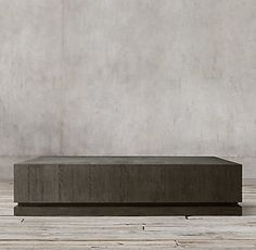 geometric panel square coffee table