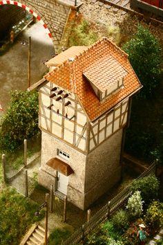 Gebäude und Dioramen Eine Seite zurück