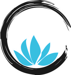Attractive Cool Zen Lotus Tattoo Design