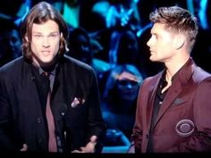 Jared and Jensen accepting the award and presenting at the 2013 People's Choice Award.  (better quality!)