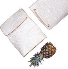 Piñatex - vegan leather from pineapple leaves