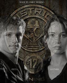 Peeta and Katniss!