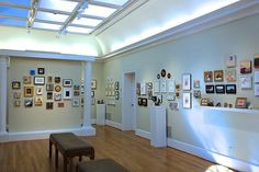 Georgous Gallery lets the sunlight show off our exhibits!