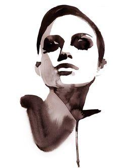 Watercolour : Stina Persson in Illustration