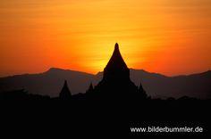 Sundown over Old Bagan, Andy Lorenz, February 2014
