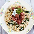 Een heerlijk recept: Jamie Oliver: Zweedse gehaktballetjes met rijst en knolselderij