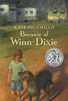 Because of Winn-Dixie by Kate DiCamillo http://www.bookscrolling.com/the-best-dog-books-of-all-time/