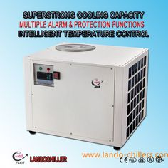Water Cooled Co2 Laser Industrial Water Chiller Unit For Laser Cutter,Cooling Laser High Quality Laser Chiller Systems 1. Product Water Cooled Co2 Laser Water Chiller Unit For Laser Cutter Compression Refrigeration Water Cooled Co2 Laser Water Chiller Unit LD-5200 is special for medium power 100W-150W Co2 laser tube, high performance Co2 Laser Engraving Machine Water Chiller Systems