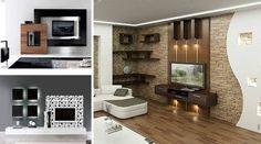 Modern TV Wall Units Furnish House