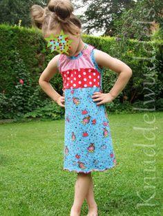 Racerback-dress Bunt, Apron, Dresses, Fashion, Sewing For Kids, Vestidos, Moda, Fashion Styles, The Dress
