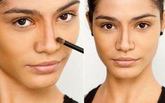 Dicas de maquiagem para olhos separados - umComo