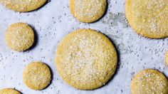 Ultimate sugar cookies - seems like a shortbread dough with an egg added for softness. WHat's not to love?