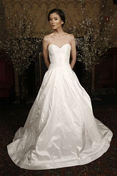 fe50f3a09e Big Little White Dress · Austin Scarlett Bridal Spring 2015  Photo by  Thomas Iannaccone  Austin Scarlett