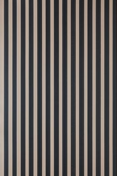 The Closet Stripe design with a width of just is a clean narrow stripe which is made by dragging paper under special open bottomed troughs filled with the Farrow & Ball paints Paper Wallpaper, Striped Wallpaper, Home Wallpaper, Colorful Wallpaper, Lines Wallpaper, Farrow Ball, Farrow And Ball Paint, Free Wallpaper Samples, Wallpaper Patterns