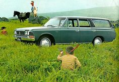Classic Car News Pics And Videos From Around The World Corolla Hatchback, Ae86, Corolla Wagon, Beast From The East, Toyota Crown, Bentley Mulsanne, Mini Trucks, Toyota Cars, Car Advertising