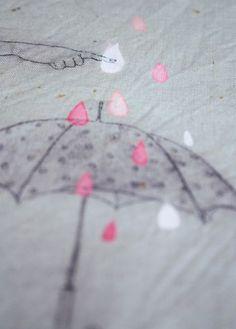 e4eb594a75eca Sophie MORILLE Artiste plasticienne/ Designer textile. Textiles, Rain  Drops, Dew Drops,