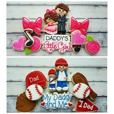 "136 Likes, 4 Comments - Bobbi Barton (@bobbiscookies) on Instagram: ""Misty from @gimmesugah created these 2 sets for the March Purple Parcel. We used a Father's Day…"""