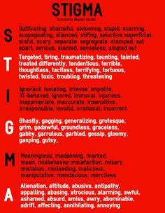446 Best Stigma Of Mental Illness Images Mental Illness Mental