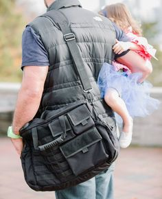 Down Range Baby - Manly Tactical Baby Gear For Dads. Now including gorgeous faux Vuiton shopper bag!