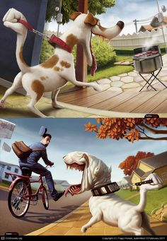 Coaching-Canin by Tiago Hoisel   2D   CGSociety