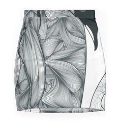 """Emperor Penguins"" Pencil Skirts by Ben Geiger | Redbubble"