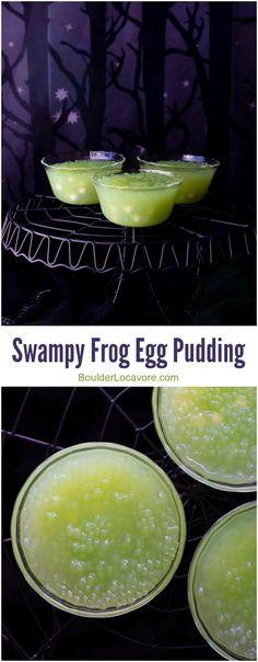 Swampy Frog Egg Pudding | Boulder Locavore