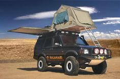 Equip your BOV with a Hannibal Safari Tent