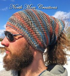 Mens Womens Buff Headband Infinity Scarf Yoga by NorthMomCreations