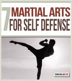 Best Martial Arts for Self Defense | Learn The Best Techniques To Fight Off Attackers By Survival Life http://survivallife.com/2015/01/19/best-martial-arts-self-defense/