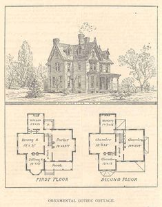 Victorian House Plans GLB