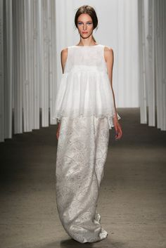 ¡Love it! Honor (SS 2015) #NYFW #weddingdresses #vestidodenovia