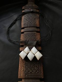 KHOMESSA,KHOMISSAR,Tuareg amulet,Tuareg jewellery,ethnic necklace,Tuareg pendant,African jewelry by AstonishingAfrica on Etsy