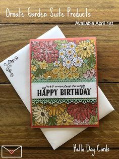 Hand Made Greeting Cards, Birthday Cards For Women, Scrapbooking, Stampin Up Catalog, Stamping Up Cards, Card Patterns, Card Sketches, Sympathy Cards, Flower Cards
