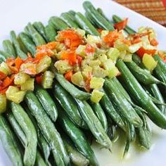 Easy Side Dish: Spice up canned green beans with this simple recipe. (Garlic Green Beans)