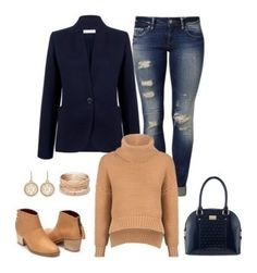 """""""street style"""" by miumiu-mi-1 on Polyvore featuring Mavi, Michael Kors, Red Camel, St. John, Atea Oceanie and C/MEO COLLECTIVE"""