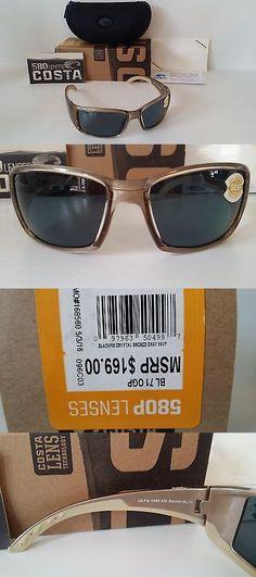 793055d271 Sunglasses 151543  New Costa Del Mar Blackfin Polarized Sunglasses Crystal  Bronze Grey 580P Fishing -
