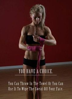 You have a choice..
