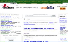 Find IT jobs and latest computer field jobs online In INDIA at Time2jobs. Apply online for latest Information Technology jobs and Internet jobs. Get your dream job in It sector.