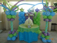 Birthdays: The Princess and the Frog Birthday Party