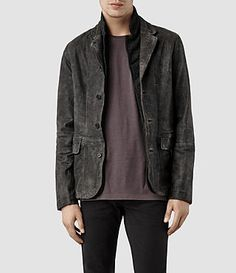 ALLSAINTS: Men's Leather Jackets - Iconic Leather for Men